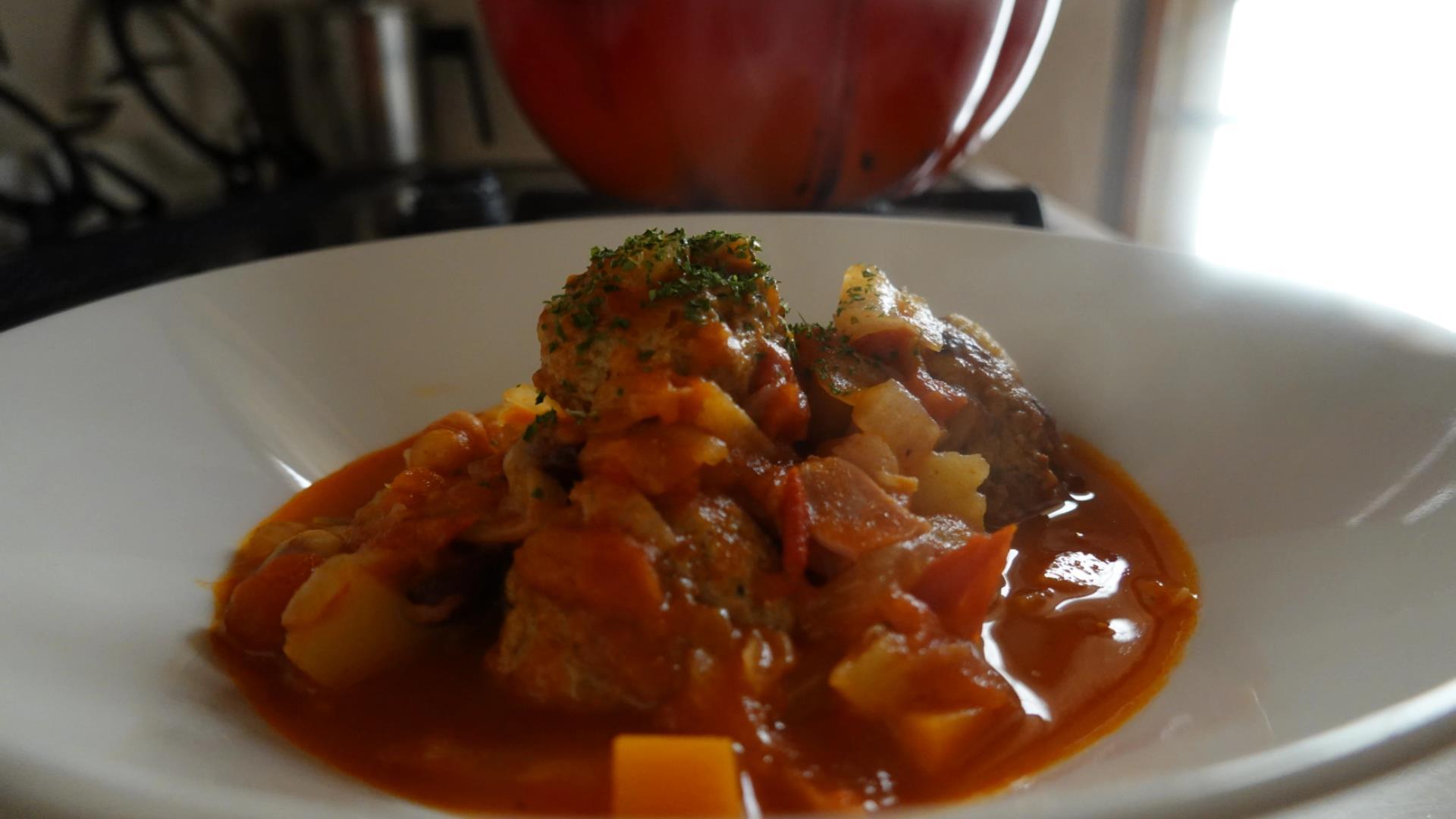 バズ―の肉団子スープ