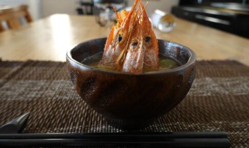 えびの味噌汁
